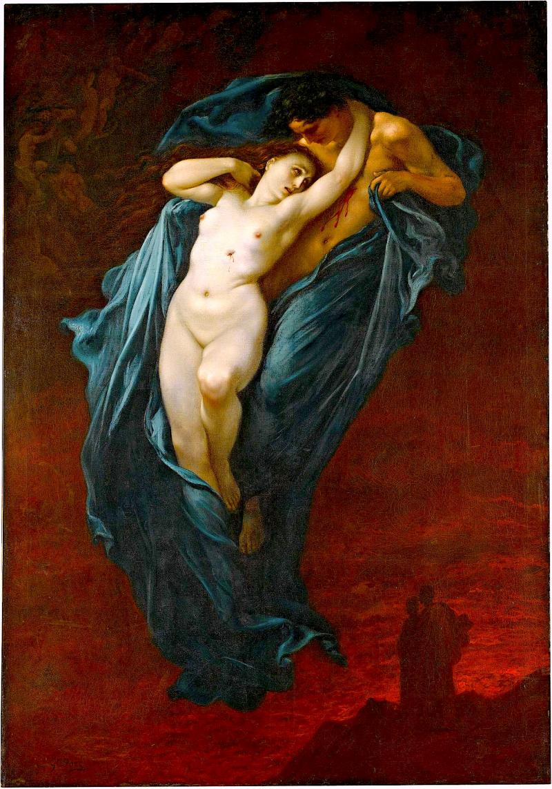Paolo y Francesca de Rimini