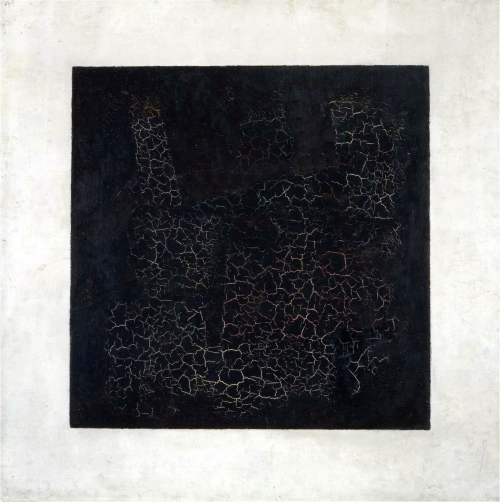 Cuadrado Negro Sobre Fondo Blanco Kazimir Malevich Historia Arte
