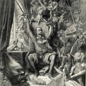 L'ingénieux hidalgo Don Quichotte de La Manche.