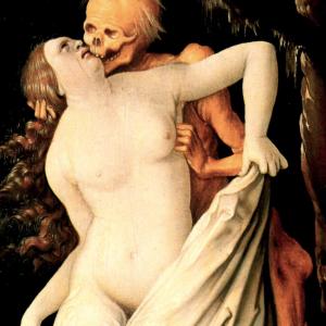 Tod und Frau