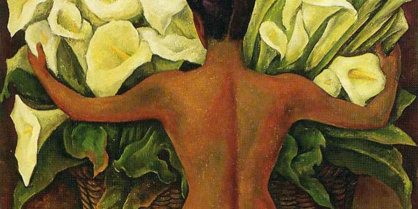 Desnudo Con Alcatraces Diego Rivera Historia Arte Ha