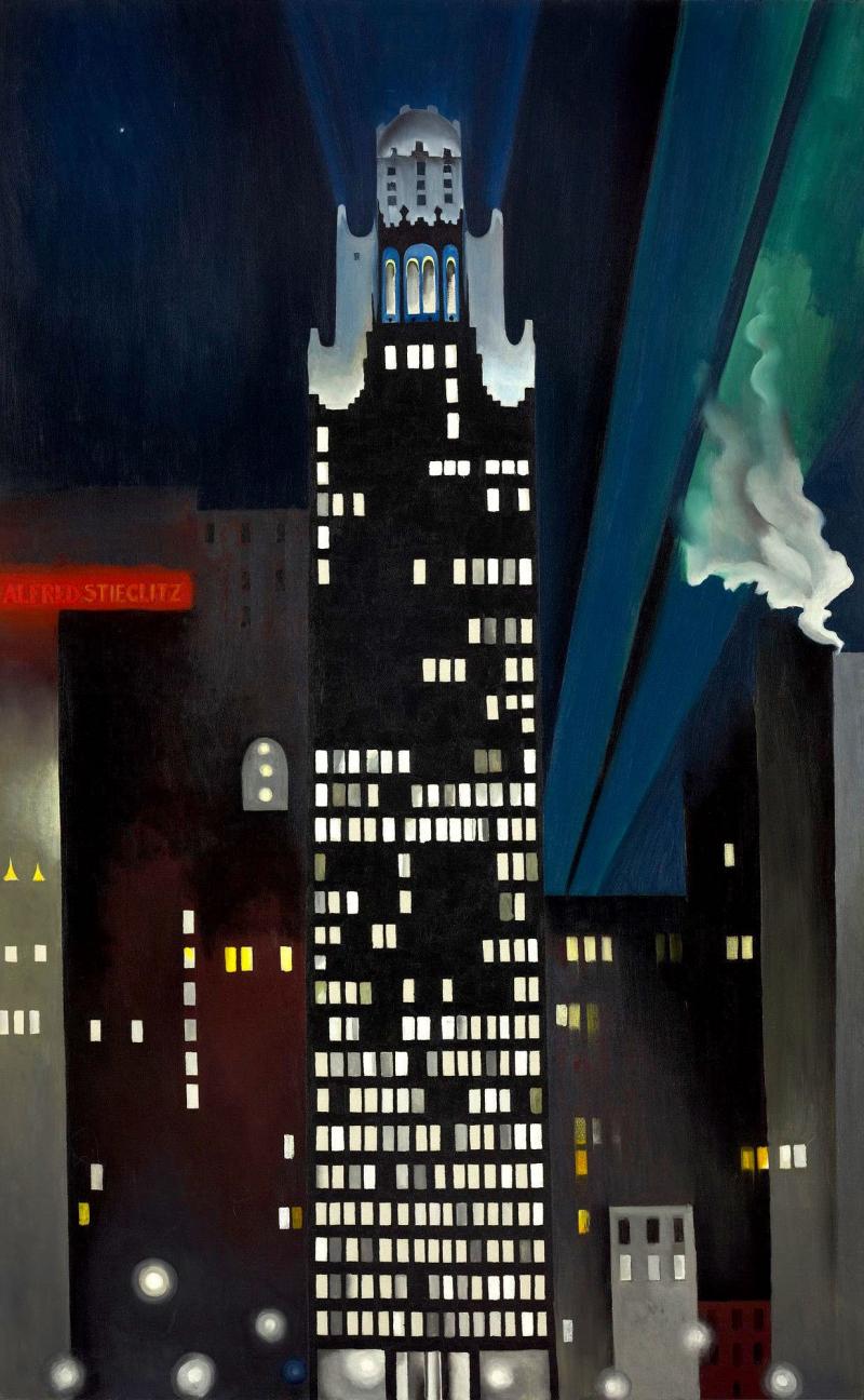 Radiator Building — Night New York,