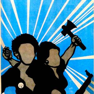 Póster de los Panteras Negras