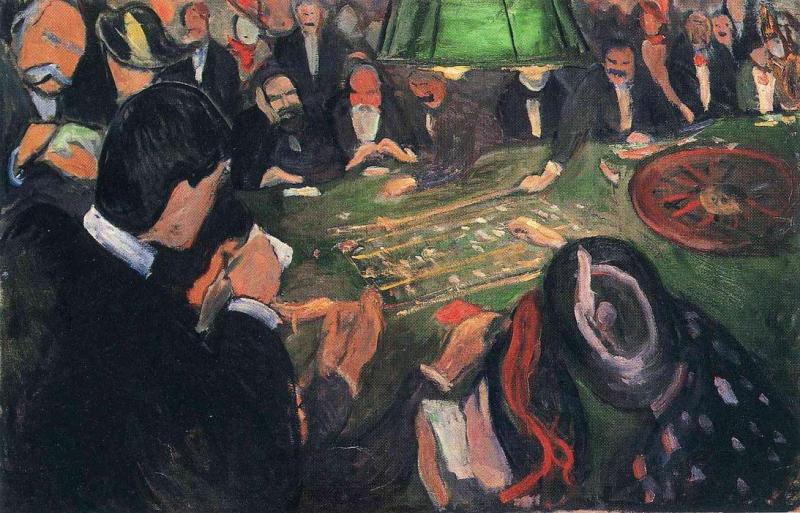 Ved ruletten i Monte Carlo