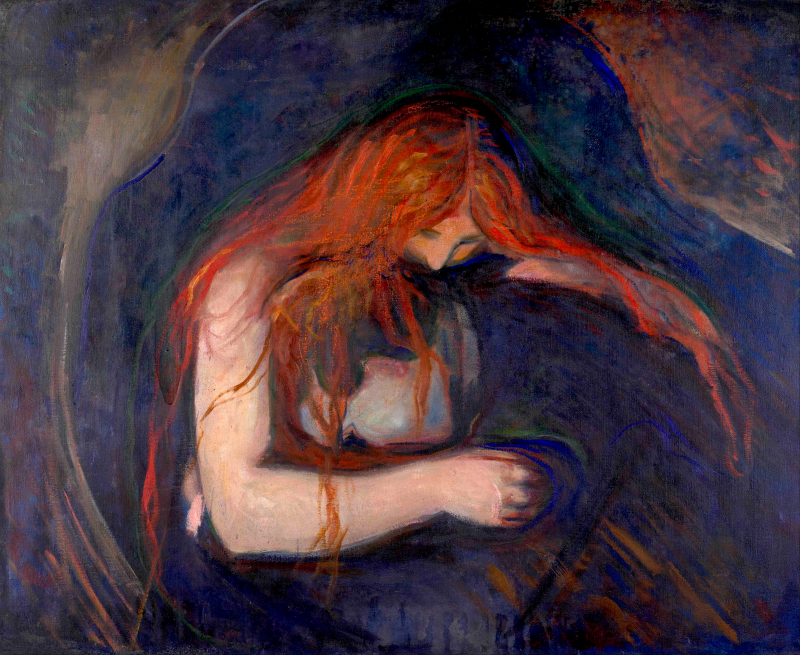 Kjærlighet og smerte, Vampyr