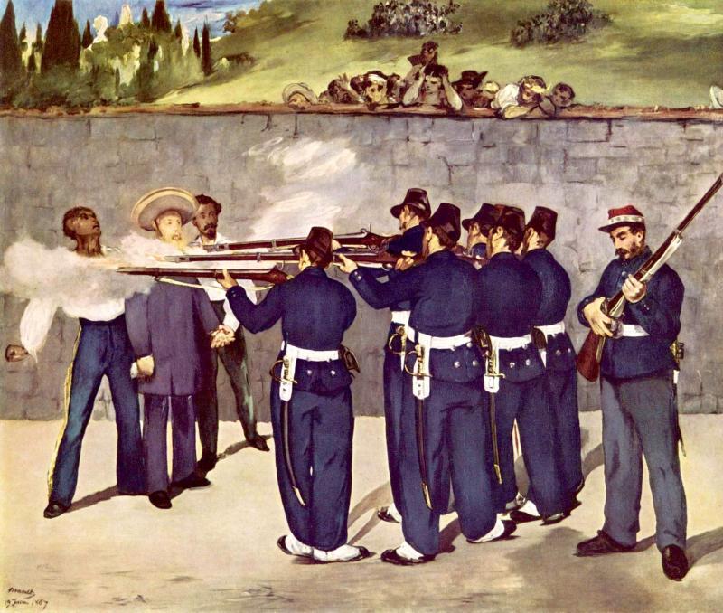 L'Exécution de Maximilien