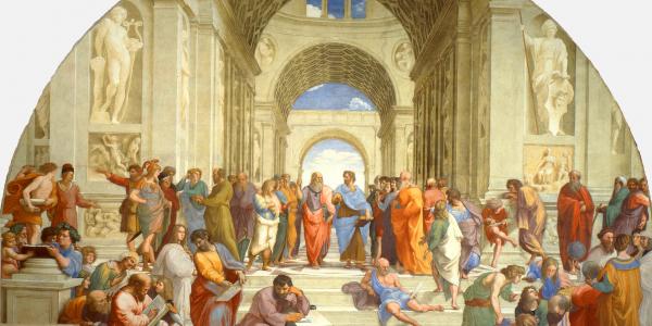 La escuela de Atenas - Rafael Sanzio - Historia Arte (HA!)