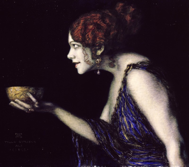 Tilla Durieux als Circe