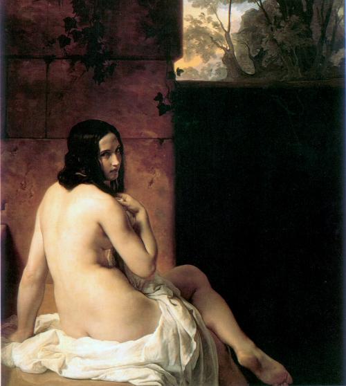 Susana En Su Bano Francesco Hayez Historia Arte Ha
