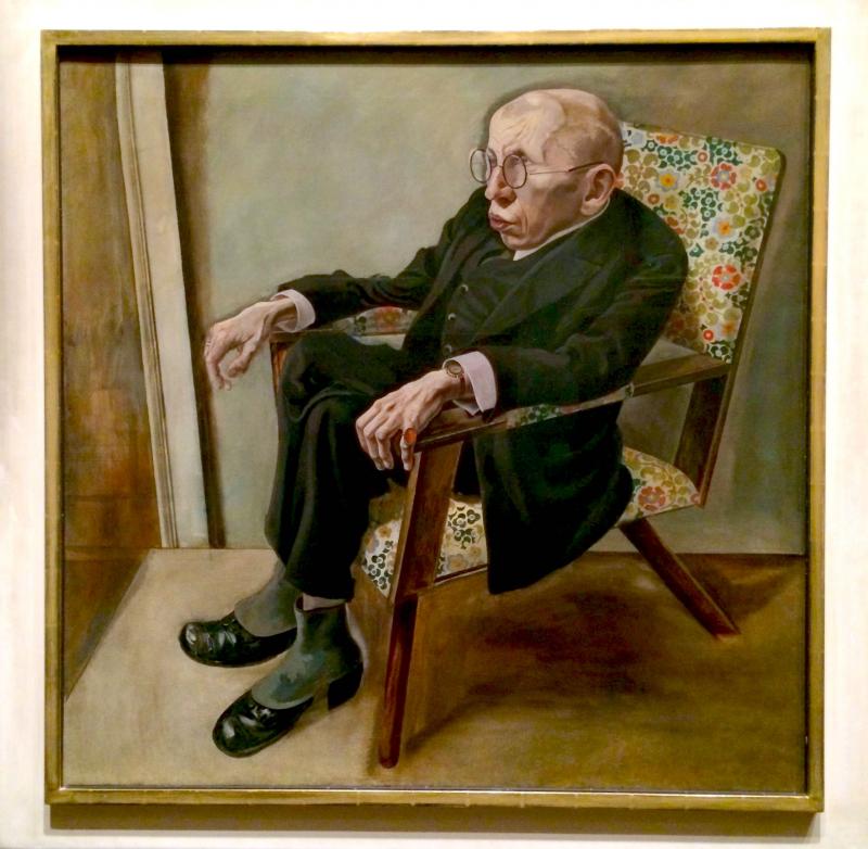 Porträt des Schriftstellers Max Herrmann-Neisse
