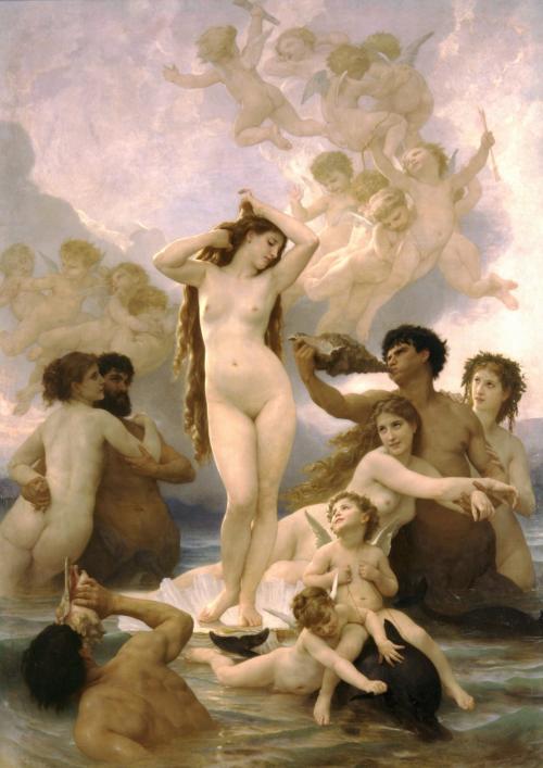Nacimiento De Venus William Adolphe Bouguereau Historia Arte Ha