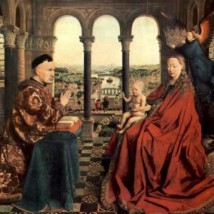 De Maagd van kanselier Rolin