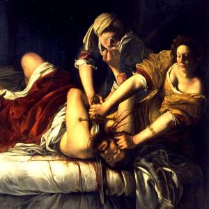 Giuditta che decapita Oloferne