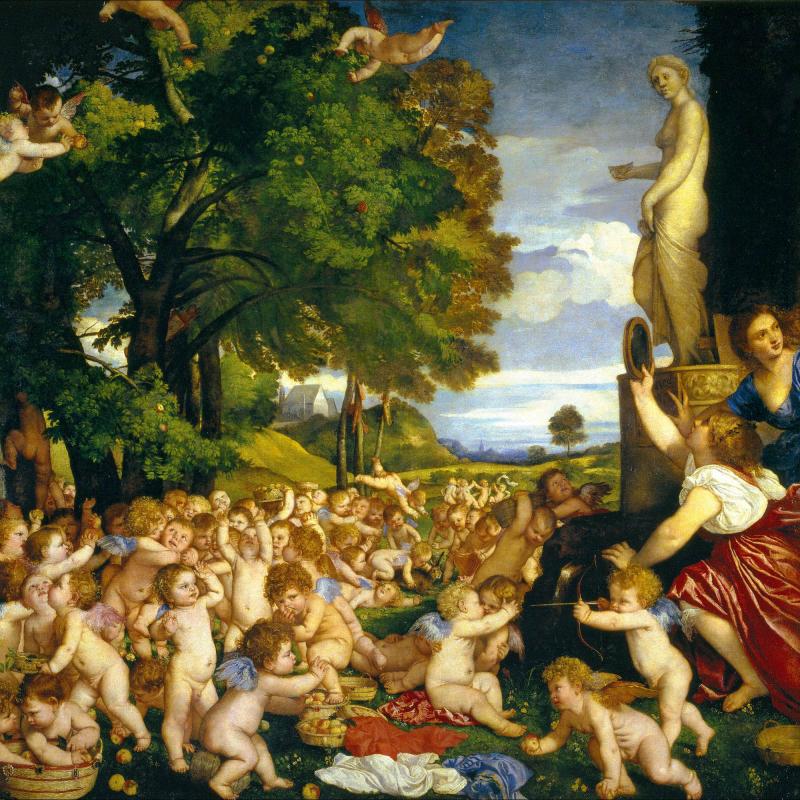Festa degli amorini o Omaggio a Venere