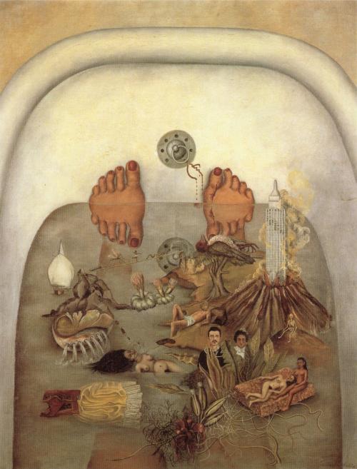 Lo Que El Agua Me Dio Frida Kahlo Historia Arte Ha