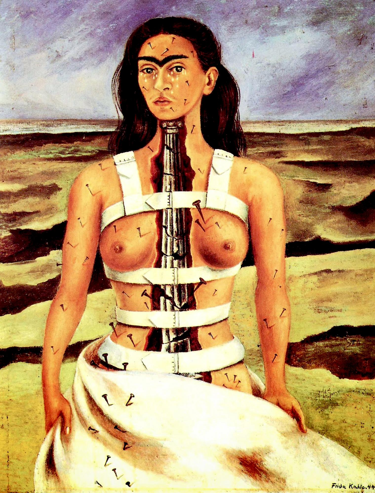 La columna rota - Frida Kahlo - Historia Arte (HA!)