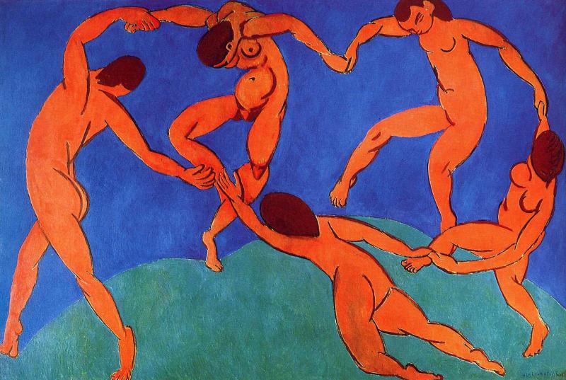 La danza - Henri Matisse - Historia Arte (HA!)