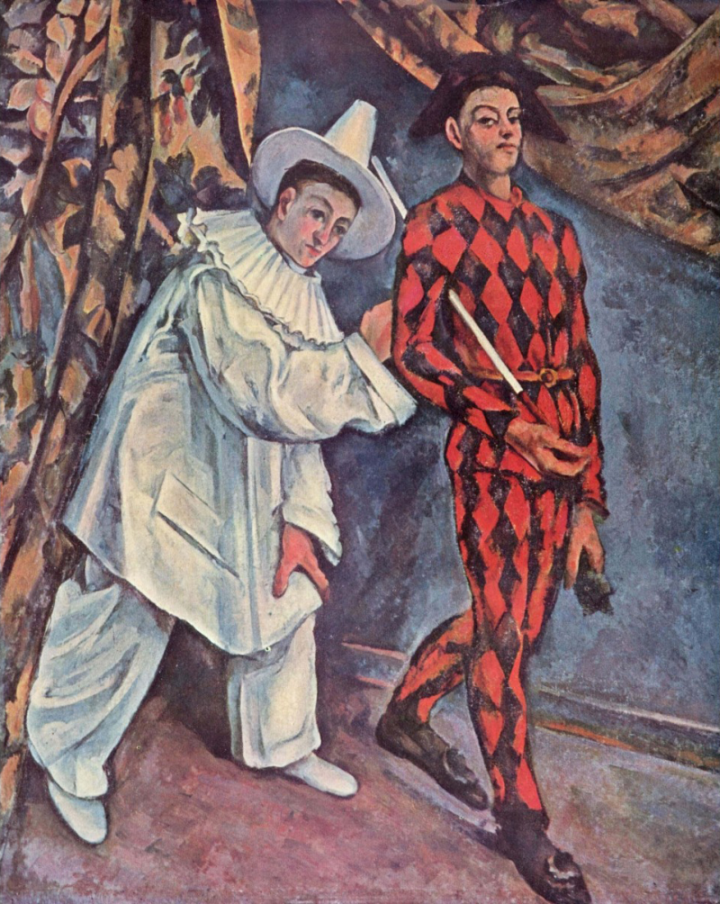 Mardi Gras o Pierrot et Arlequin