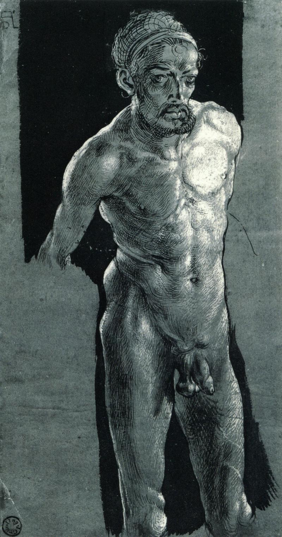 Nacktes Selbstporträt.