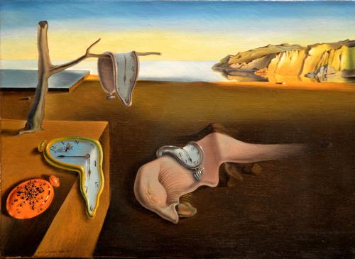 La persistencia de la memoria. Salvador Dalí.