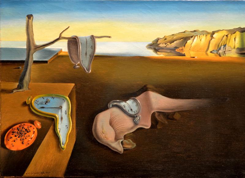 La persistencia de la memoria - Salvador Dalí - Historia Arte (HA!)