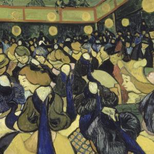Terraza De Café Por La Noche Vincent Van Gogh Historia