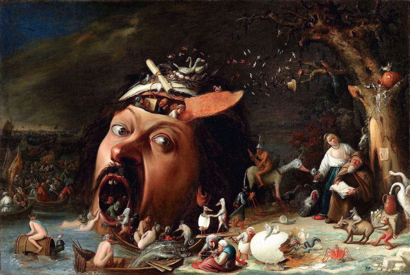 Die Versuchungen des heiligen Antonius