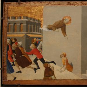 Il beato Ranieri libera i poveri dalla prigione di Firenze
