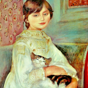 Julie Manet dit aussi L'enfant au chat
