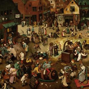 Het Gevecht tussen Carnival en Vasten