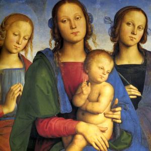Madonna col Bambino tra Santa Rosa e Santa Caterina