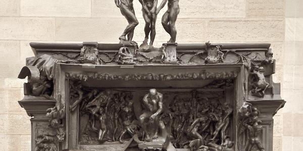 La Puerta Del Infierno Auguste Rodin Historia Arte Ha