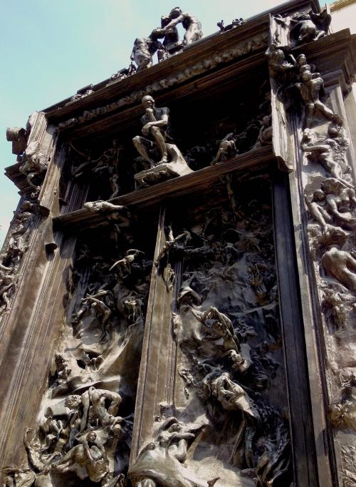 La puerta del infierno auguste rodin historia arte ha - La porte de l enfer rodin ...