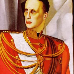 Retrato del Gran Duque Gabriel Kostantinovic
