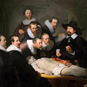 Anatomische les van Dr. Nicolaes Tulp