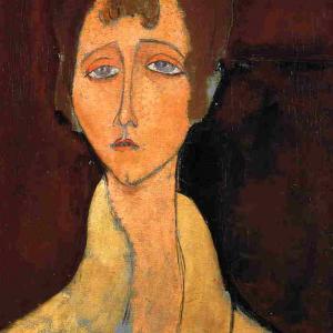 Jeune femme à la guimpe blanche