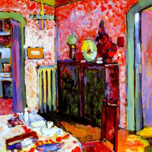 Interieur (mein Esszimmer)