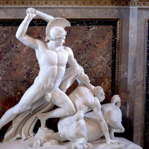 Teseo e il centauro.