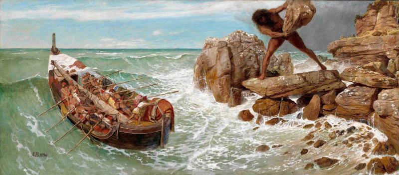 Odysseus und Polyphem