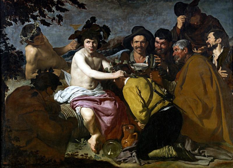 Los borrachos - Diego Velázquez - Historia Arte (HA!)