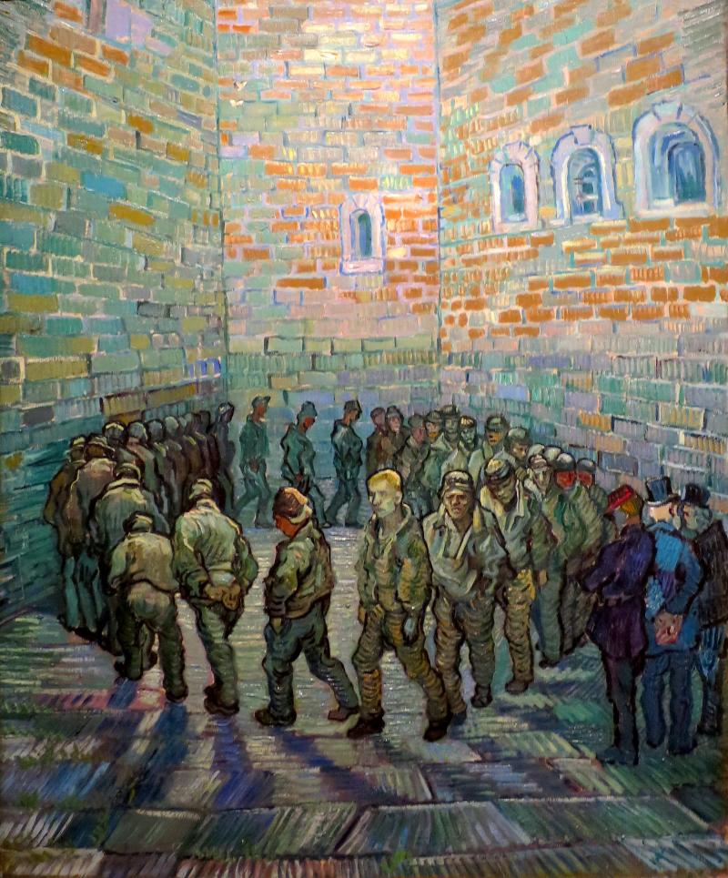 Runde der Gefangenen (nach Doré)