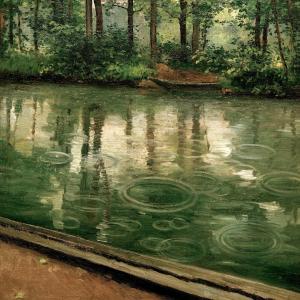 L'Yerres, effet de pluie