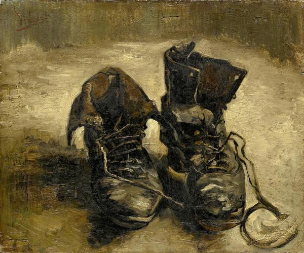 Zapatos viejos - Vincent Van Gogh - Historia Arte (HA!)