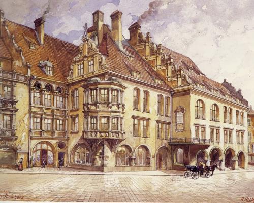 Las aventuras del joven artista Adolf Hitler